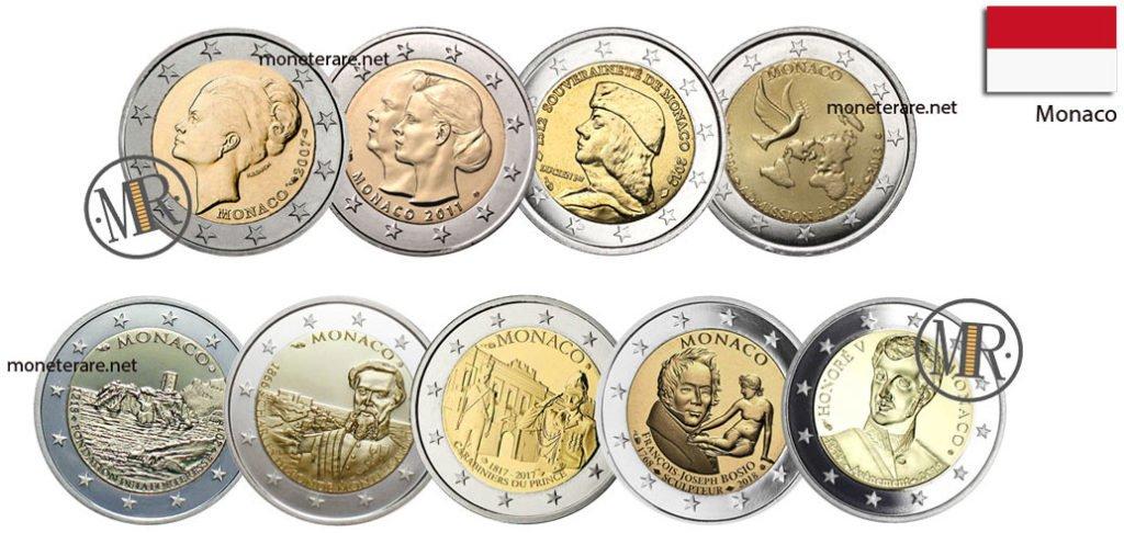 2 Euro Commemorativi Monaco
