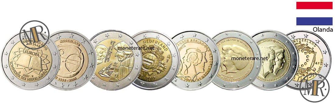 2 Euro Commemorativi Olanda