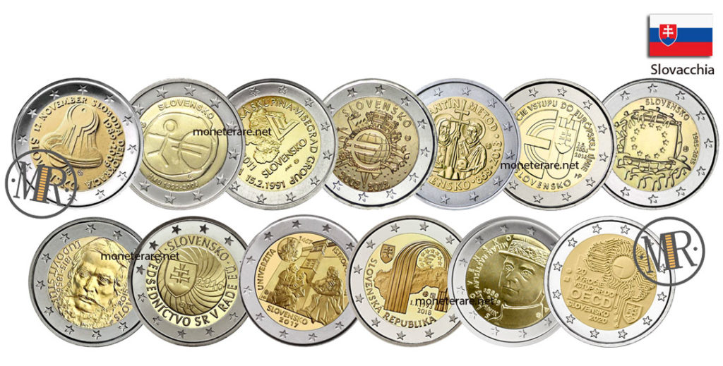 2 Euro Commemorativi Slovacchia