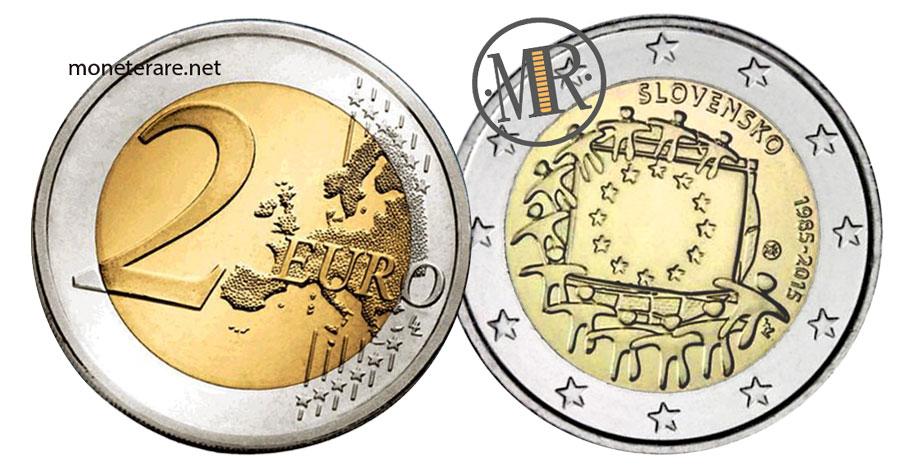 Slovakia 2 Euro Coins 2015 - Slovensko 1985-2015