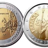 2 Euro Spagna 2005 – Don Chisciotte