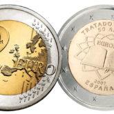 2 Euro Spagna 2007 – 50° anniversario Trattati di Roma