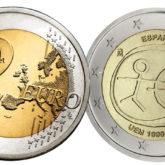 2 Euro Spagna 2009 – 10° Anniversario Unione Economica e Monetaria
