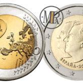 2 Euro Spagna 2014 – Cambio di Re - Successione al trono del Regno di Spagna