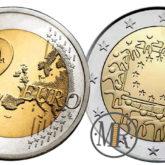 2 Euro Spagna 2015 – 30° Anniversario Bandiera Europea