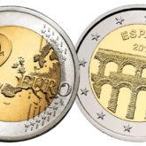 2 Euro Spagna 2016 – Acquedotto di Segovia