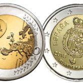 2 Euro Spagna 2018 – 50° Compleanno Re Felipe VI