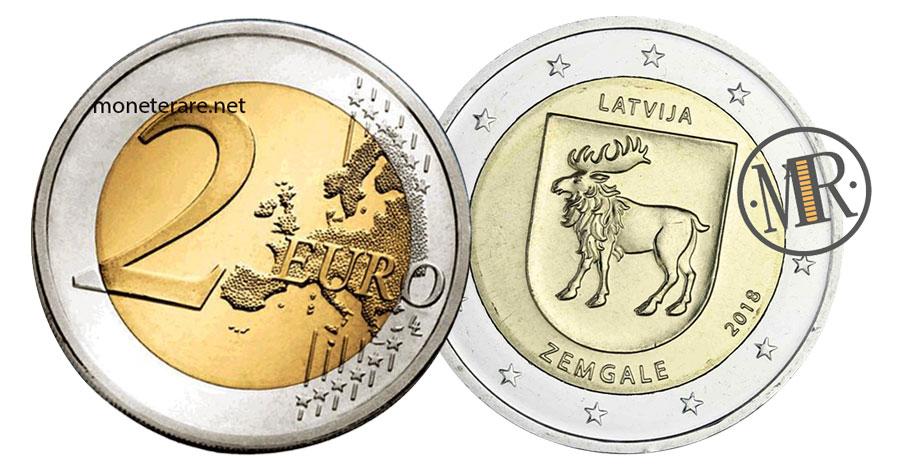 2 Euro Commemorative Lettonia 2018 - Semgallia