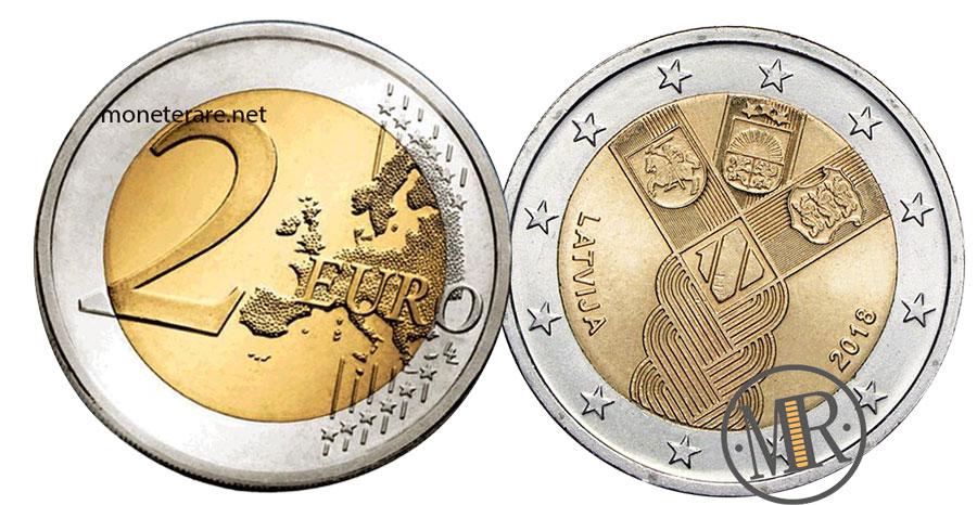 2 Euro Lettonia 2018 Commemorative - Stati Baltici Indipendenti