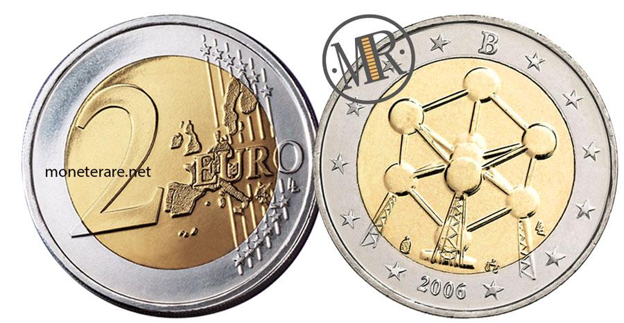 2 Euro Commemorativi Belgio 2006 Atomium