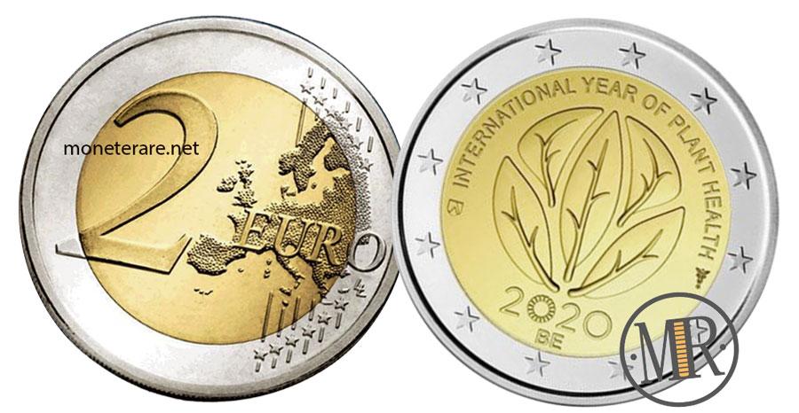 2 Euro Commemorativi Belgio 2020 Salute delle Piante