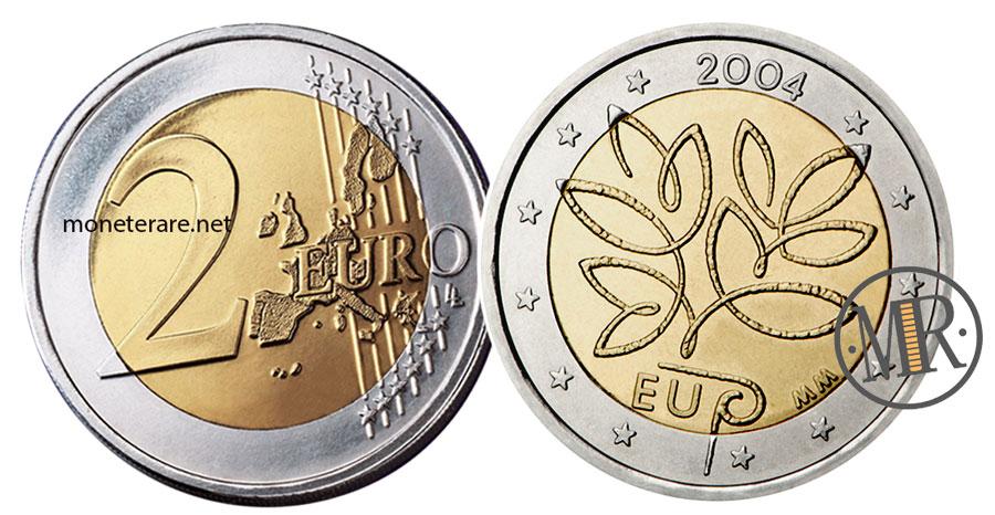 2 Euro Commemorativi Finlandia 2004 - Allargamento Unione Europea