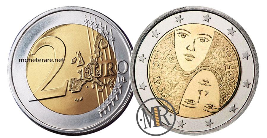 2 Euro Commemorativi Finlandia 2006 - Suffragio Universale