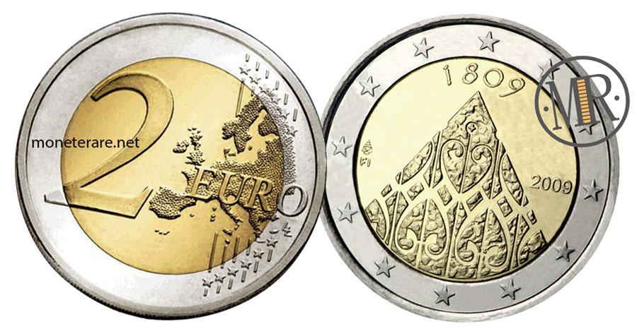 2 Euro Commemorativi Finlandia 2009 - Autonomia della Finlandia