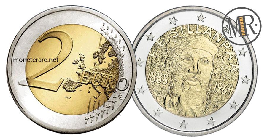 2 Euro Commemorativi Finlandia 2013 - Frans Eemil Sillanpää