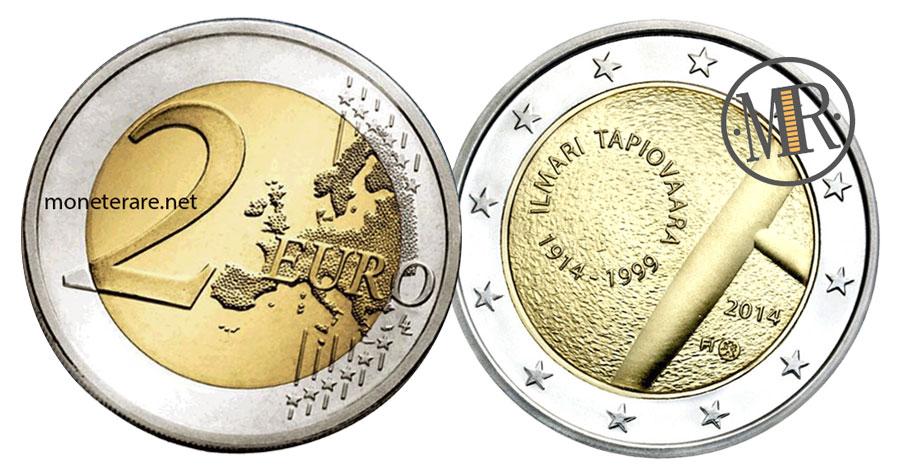 2 Euro Commemorativi Finlandia 2014 - Ilmari Tapiovaara