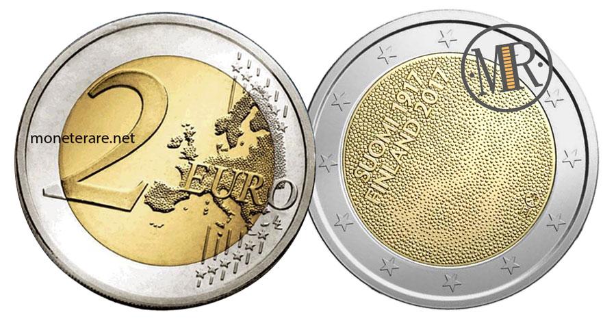 2 Euro Commemorativi Finlandia 2017 - Indipendenza della Finlandia