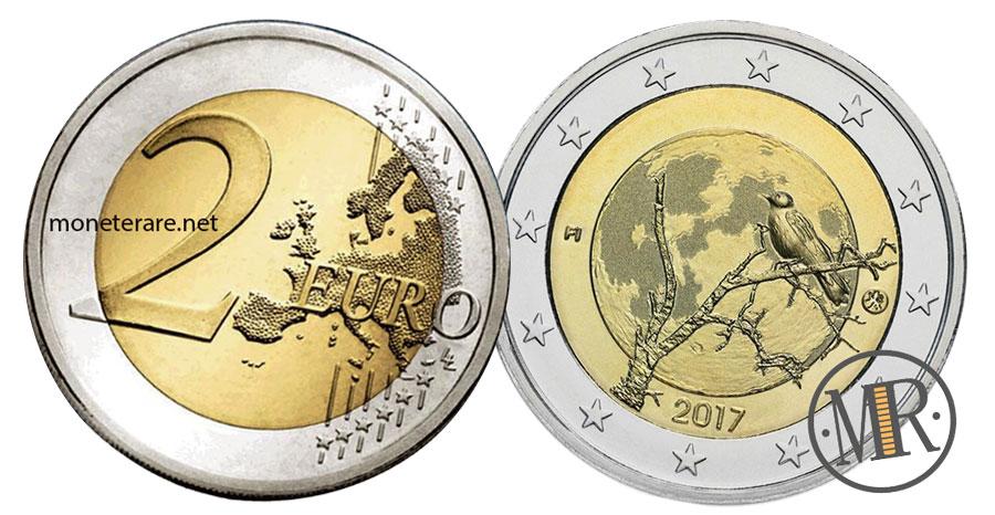 2 Euro Commemorativi Finlandia 2017 - Natura finlandese
