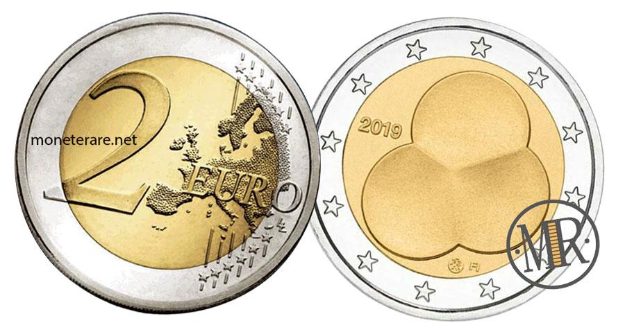 2 Euro Commemorativi Finlandia 2019 - Costituzione