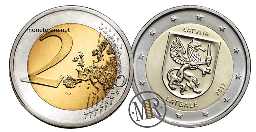 2 Euro Commemorative Lettonia 2017 - Letgallia