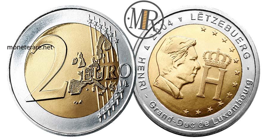 2 Euro Lussemburgo 2004 Commemorativi Granduca Henri
