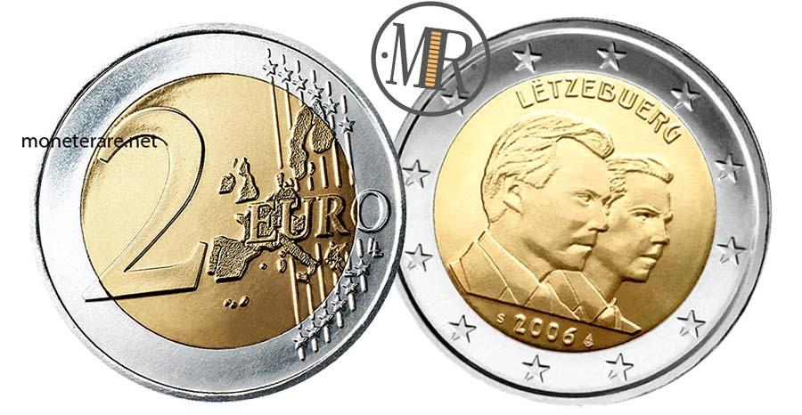Moneta da 2 Euro Lussemburgo 2006 -  Commemorativi Granduca Guillaume Compleanno
