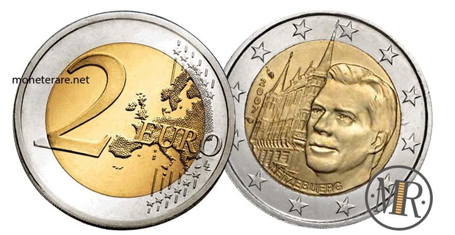 2 Euro Lussemburgo 2007  Commemorativi Il Palazzo Granducale