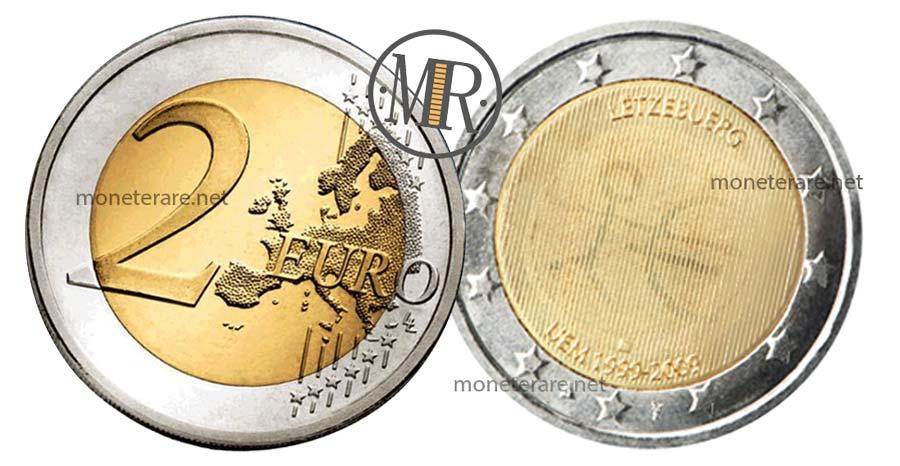 2 Euro Lussemburgo 2009 - Commemorativi  UEM