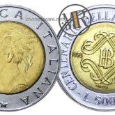 500 lire 1993 Banca d'Italia