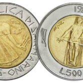 500 Lire 1985 San Marino