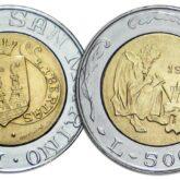 500 Lire 1989 San Marino