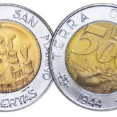 500 Lire 1991 San Marino