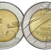 500 Lire 1990 San Marino