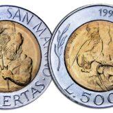500 Lire 1994 San Marino