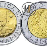 500 Lire 1999 San Marino