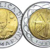 500 Lire 2000 San Marino