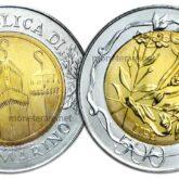 500 Lire 2001 San Marino