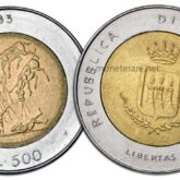 500 Lire 1983 San Marino