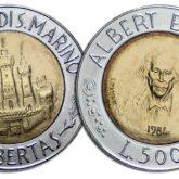 500 Lire 1984 San Marino