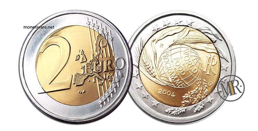 2 Euro Commemorativi Italia 2004  World Food Programme