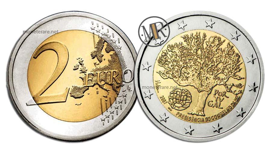 2 Euro Commemorativi Portogallo 2007 Presidenza Consiglio