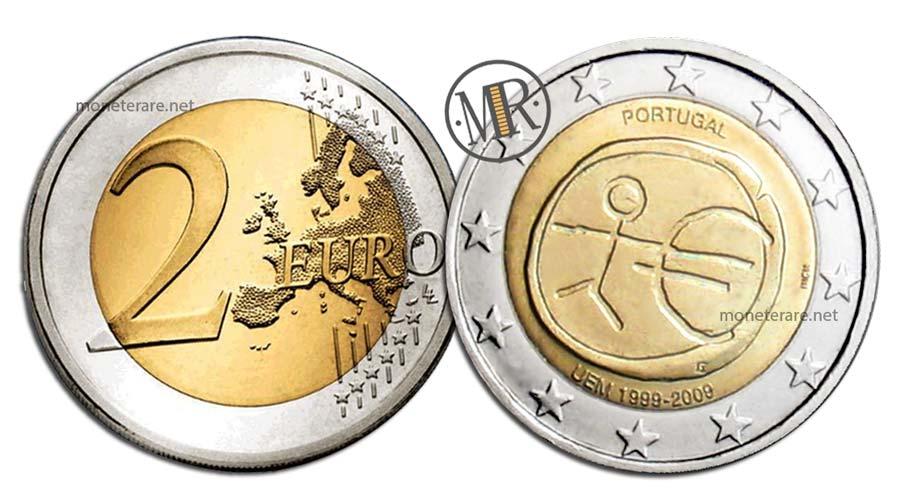 2 Euro Commemorativi Portogallo 2009 UEM
