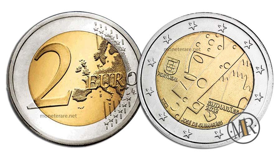2 Euro Commemorativi Portogallo 2012 Capitale Europea della Cultura