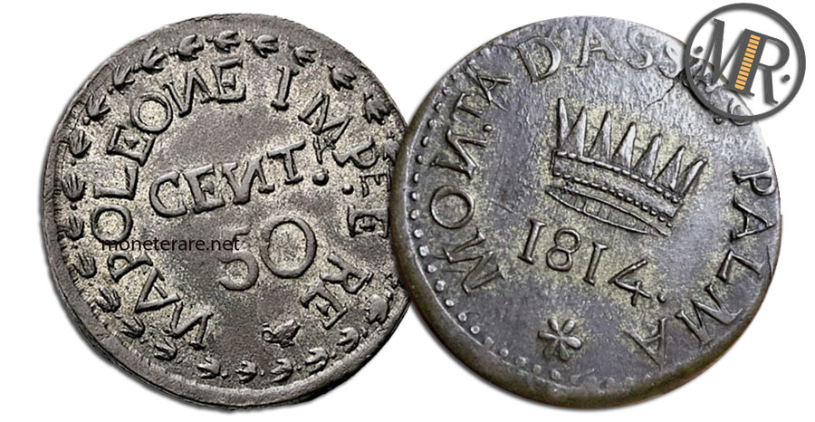 50 Centesimi Lire Napoleone I Palmanova
