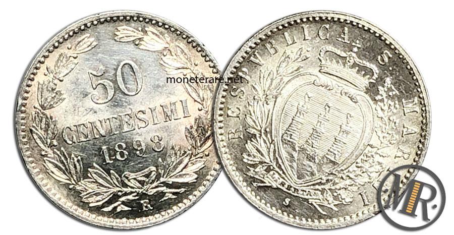 50 Centesimi Lire San Marino