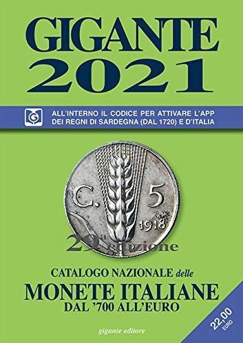 catalogo gigante 2021 monete italiane