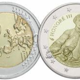 2 Euro Monaco 2020  - 300° anniversario della nascita del Principe Honoré III