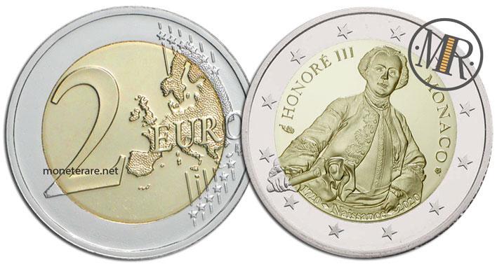 2 Euro Monaco 2020 Onorato III