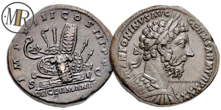 Sesterzio Marco Aurelio