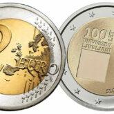 2 Euro Slovenia 2019 - 100° Anniversario della fondazione dell'Università di Lubiana